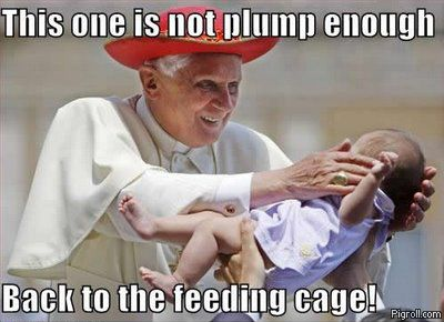 Pope and a baby