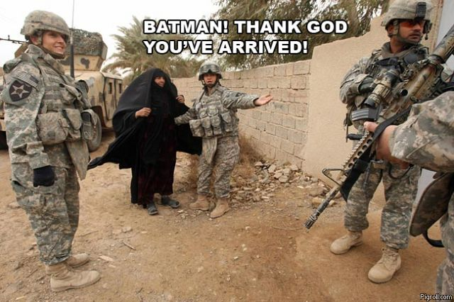 Batman! Thank God you've arrived!