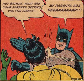 Batman's parents are dead