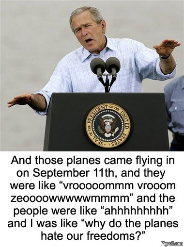 Bush explains 9/11