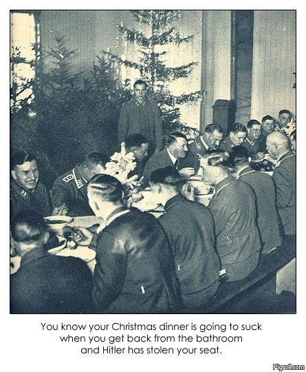 Christmas dinner with Hitler