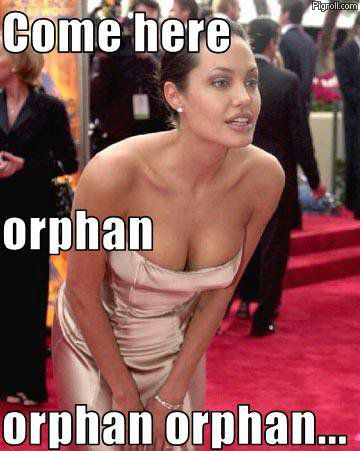 Angelina Jolie looking for new orphan