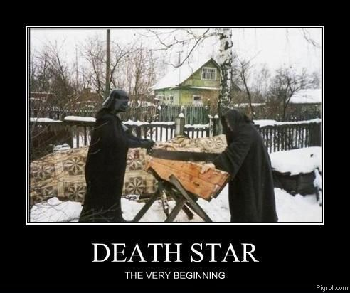 Death Star: the very beginning