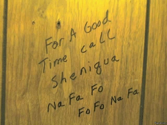 For a good time call Sheniqua