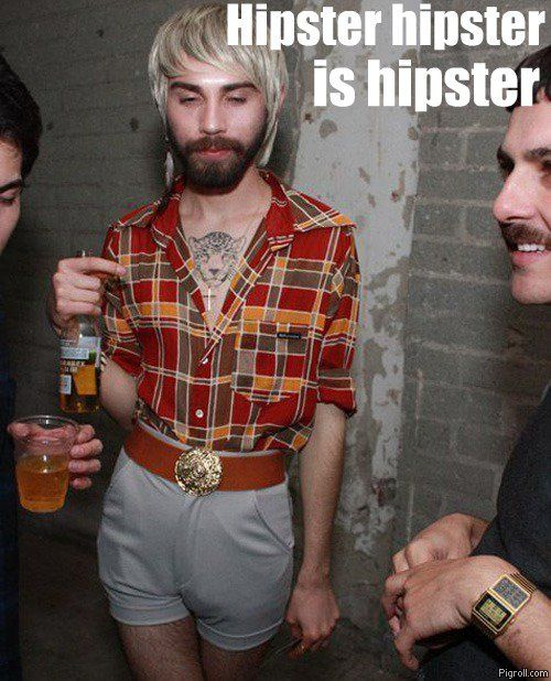 Hipster hipster is hipster