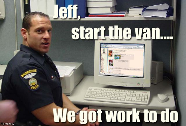 Jeff, start the van