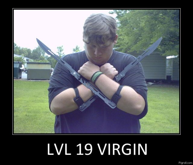 Lvl 19 virgin