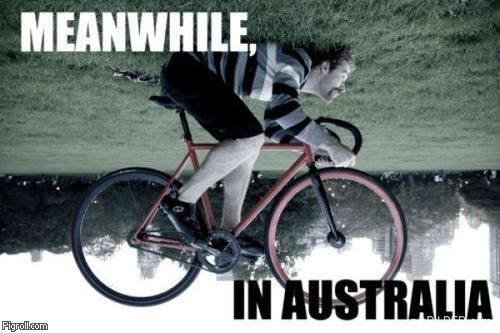Meanwhile, in Australia