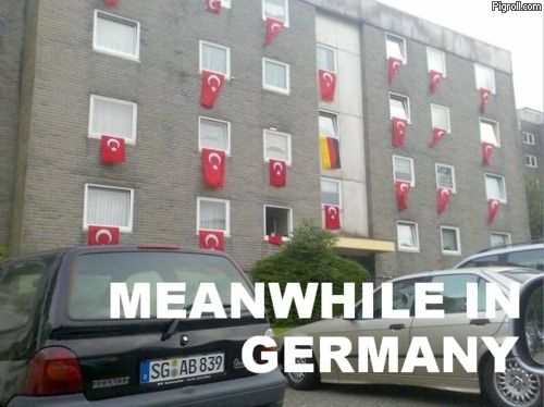 Meanwhile, in Germany