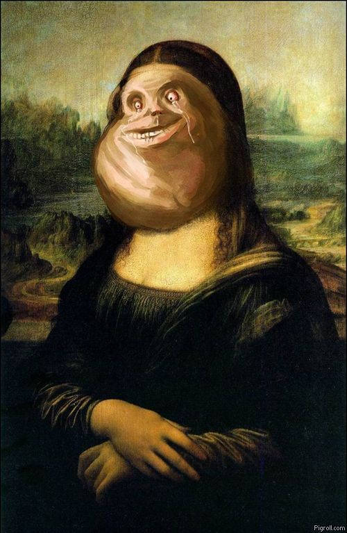 Mona Lisa Forever Alone