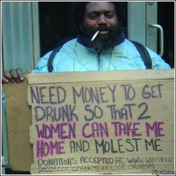 Need money to get drunk