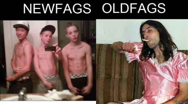 Newfags vs oldfags