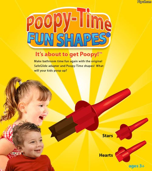 Poopy-Time Fun Shapes