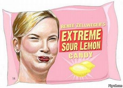 Renee Zellweger's Extreme Sour Lemon Candy
