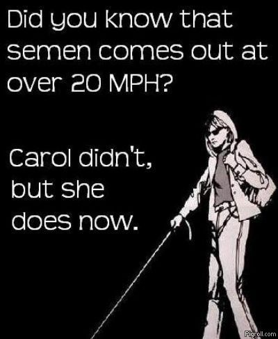 Did you know that semen comes out at over 20 mph?