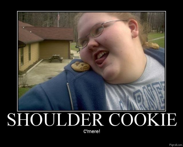 Shoulder cookie