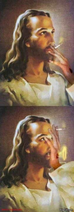 Smoking Jesus