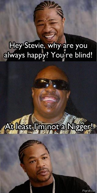 Why Stevie Wonder is always happy