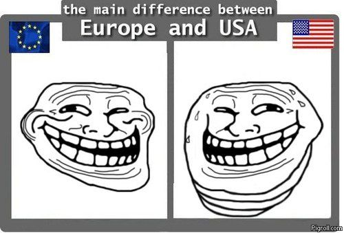 European and American trolls