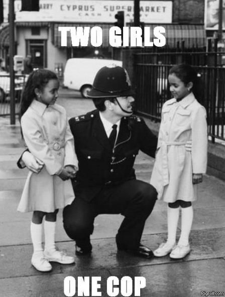 Two girls one cop