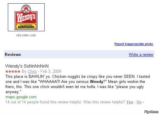 Wendy's Review