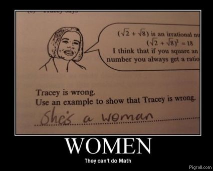 Tracey is wrong about squaring irrational numbers