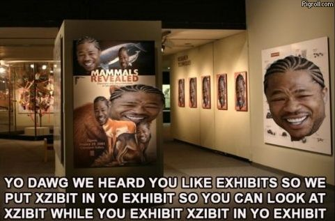 Xzibit on exhibit