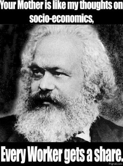 Marx's thoughts on your mother