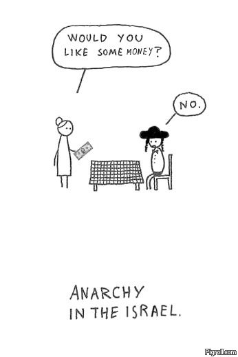 Anarchy in the Israel