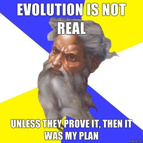 Evolution is not real
