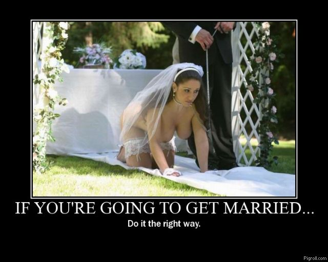 Get married the right way