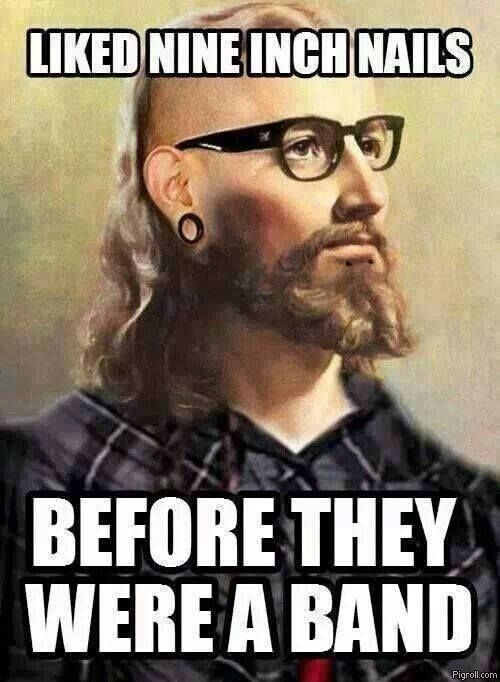 Hipster Jesus liked Nine Inch Nails