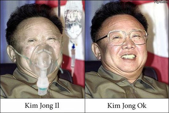 Kim Jong Il and OK