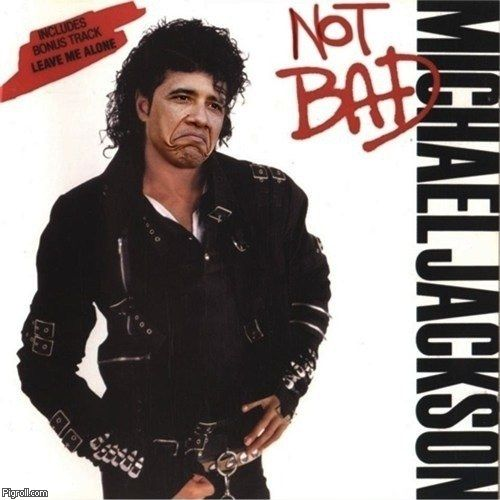 Barack Obama as Michael Jackson in Not Bad