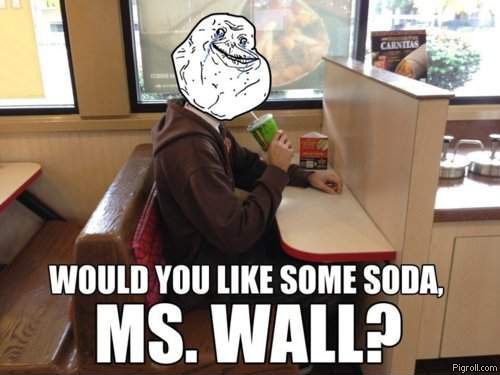 Would you like some soda, Ms. Wall?